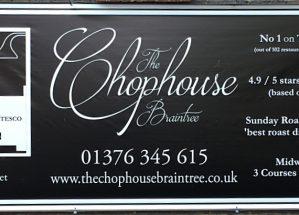 Chophouse Banner Header